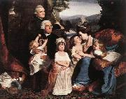 COPLEY, John Singleton The Copley Family dsf oil on canvas